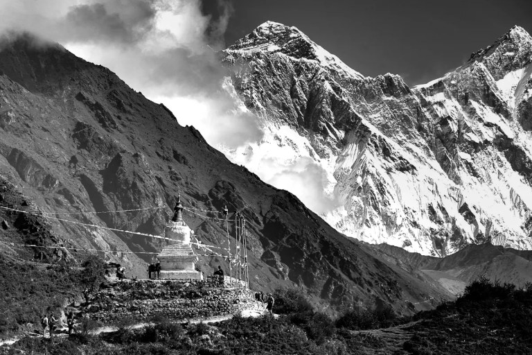 Travel Memories: Black & White Himalayas Part 1