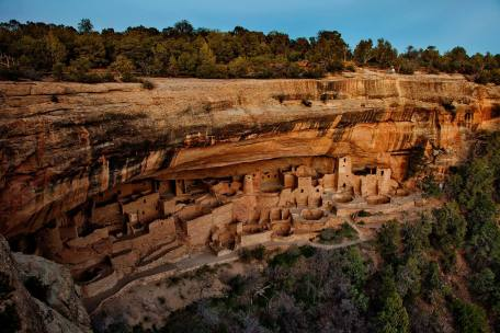 Mesa Verde Native American archaeological site