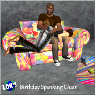 Lok's Birthday Spanking Chair