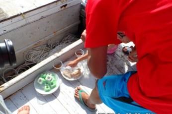 menu sarapan diatas perahu