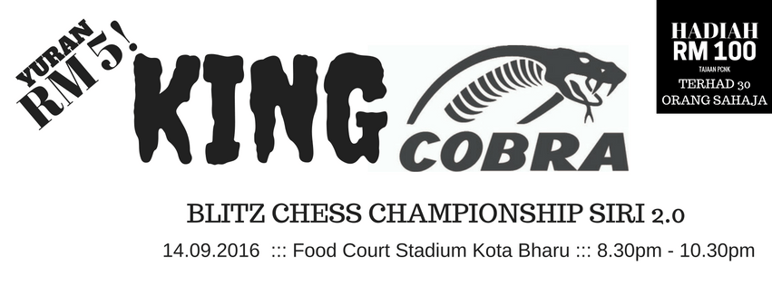 King Cobra Blitz Chess Championship Siri 2.0
