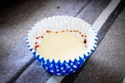 Panna cotta con caramello, farinaeuova