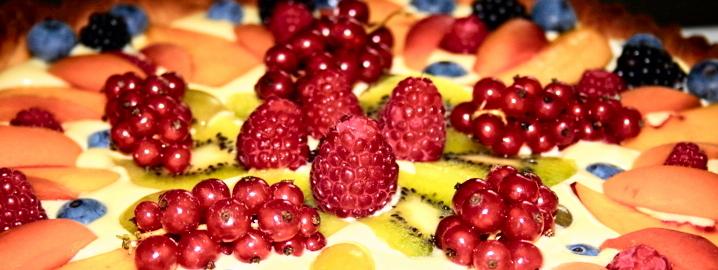 Crostata di frutta, farinaeuova
