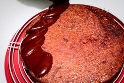 Torta sacher, farinaeuova