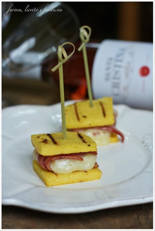 Finger food di polenta  Farina lievito e fantasia