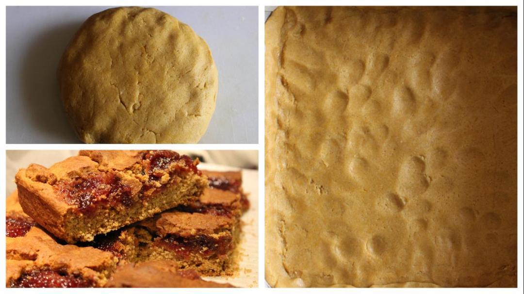 Crostata con farina di castagne e di riso