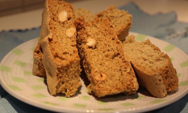 Cantucci con farina di miglio e riso