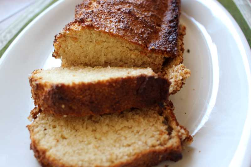 Pane con farina di cocco