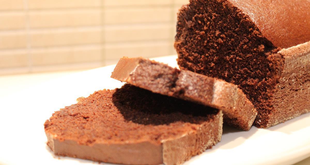 Torta al cacao con farina di mais e riso senza glutine