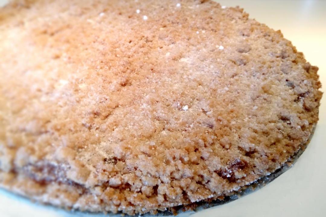 Sbrisolona con farina di nocciole