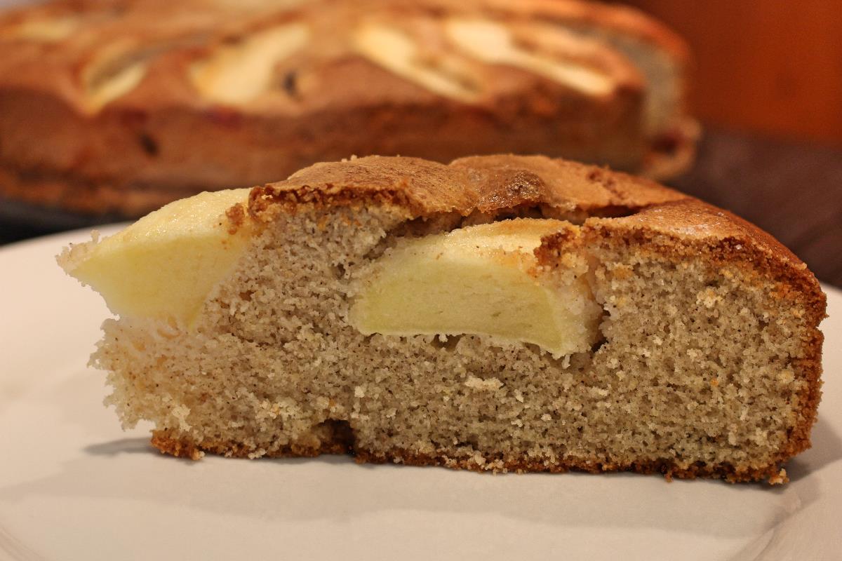 Torta di mele con grano saraceno