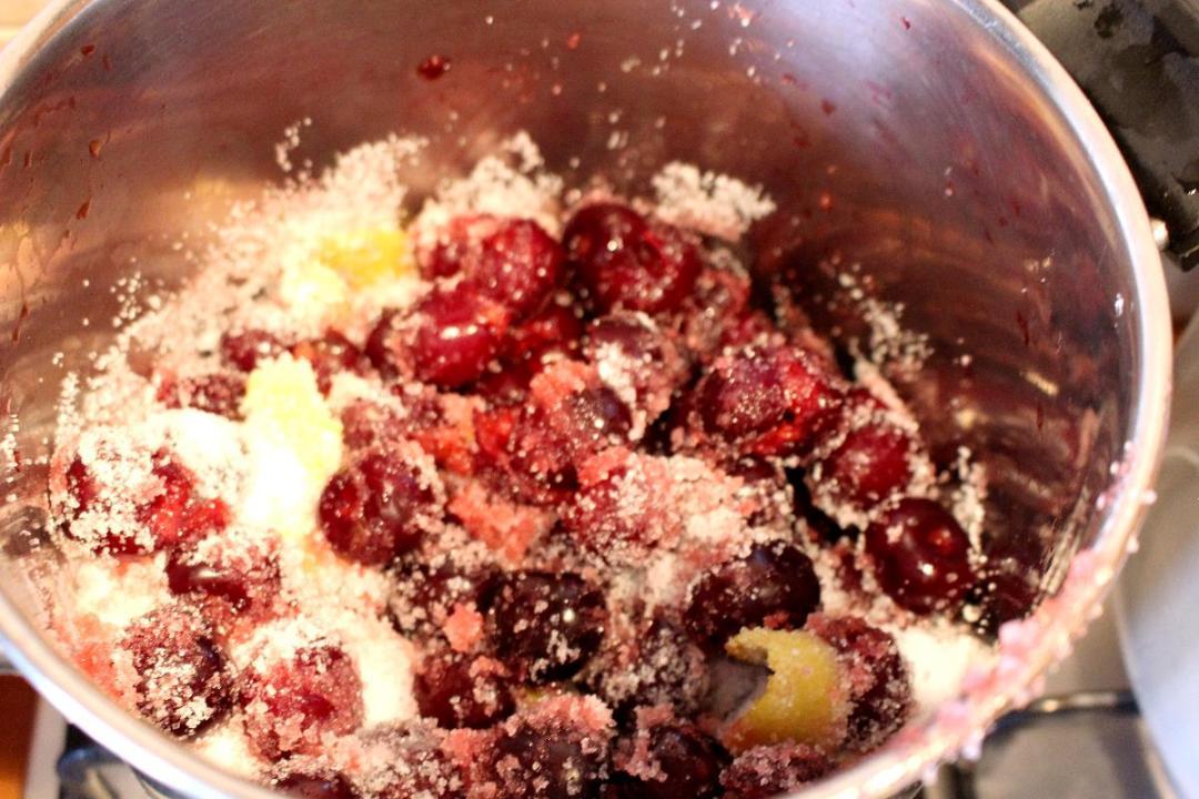 Ricetta marmellata ciliegie