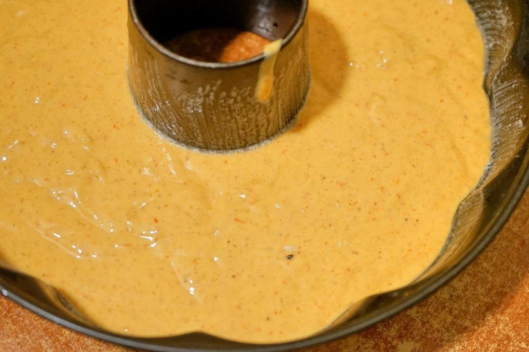 Torta di cachi soffice senza burro