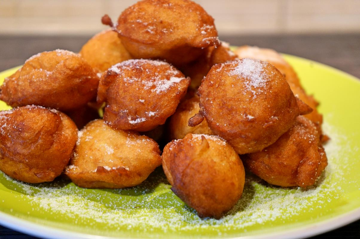 Frittelle di patate dolci