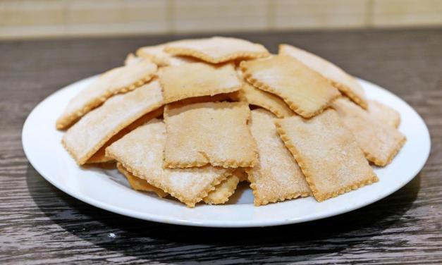 Crackers di riso e ceci ricetta facilissima
