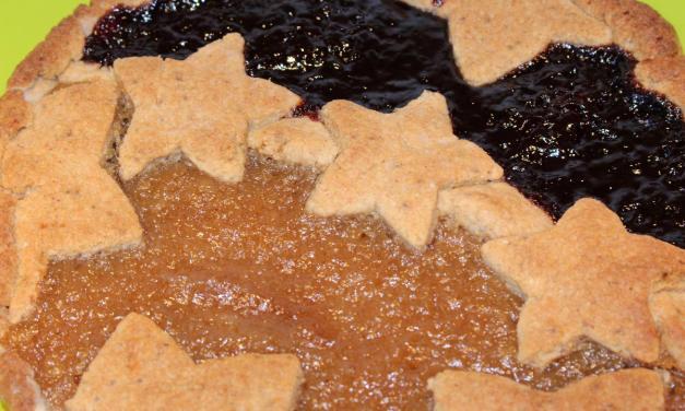 Crostata farina di quinoa e mandorle senza uova