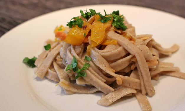 Tagliatelle con grano saraceno pasta fresca facilissima