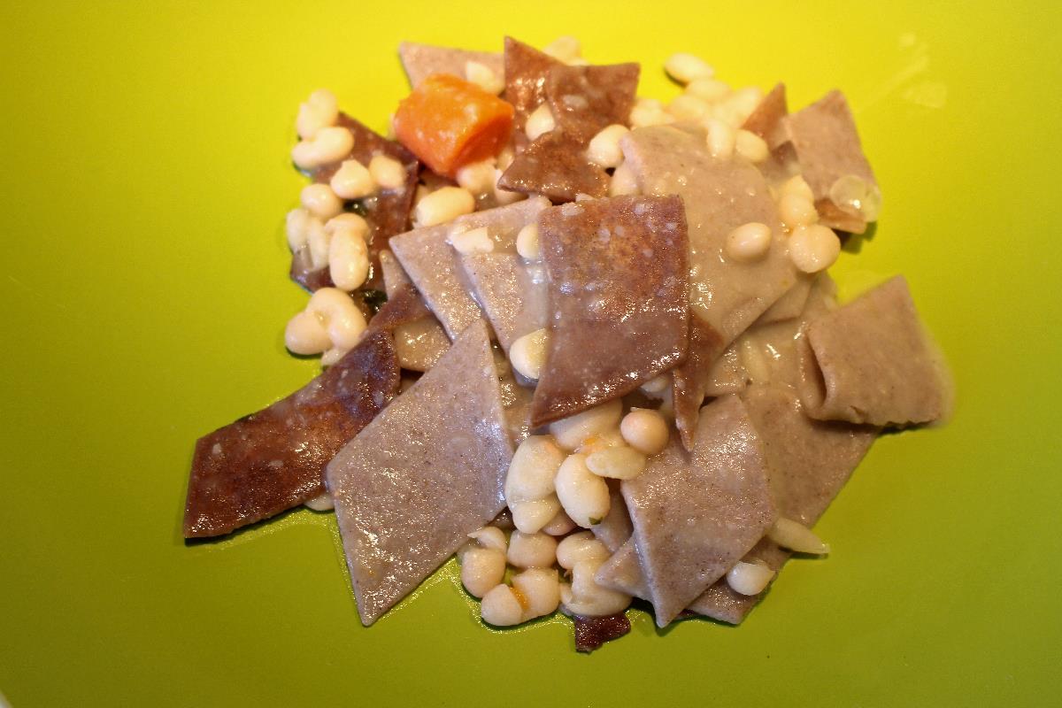Pasta di farro e grano saraceno