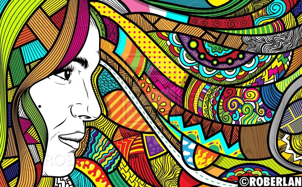 Cara Membuat Doodle Art Bagi Pemula  fariskanurzamanmulyana