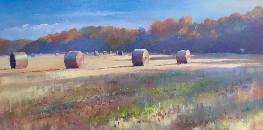 Bales at Dawn