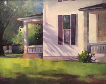 Porch in Shadows