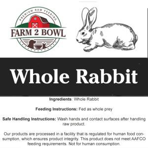 farm 2 bowl raw feeding