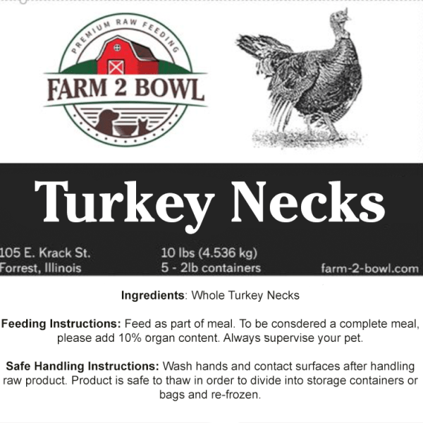 raw feeding turkey necks