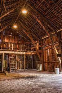The century-old barn - Beavercreek Demonstration Farm