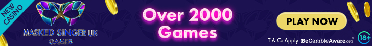 Get a 100 Free Spins Welcome Bonus on your 1st deposit at Masked Singer Games