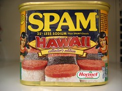 SPAM Hawai´i Limited Collector´s Edition Tin (front)