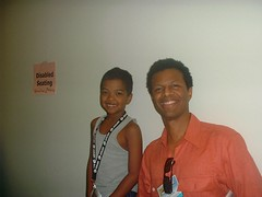 Terrell and Phil Lamarr