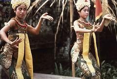 indonesia bali legong dancers