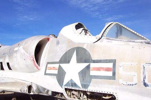 Salvaged Skyhawk Cockpit