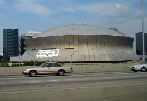 The Superdome--Reopening 9-25-2006 by NYC Comets.