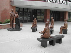 """No Child Left Behind"" sculpture (wi..."