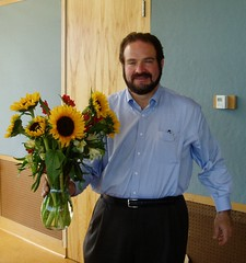 Walter With Flowers