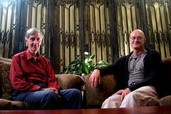 Brother Wayne Teasdale and Ken Wilber