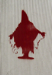 Abu Ghraib stencil