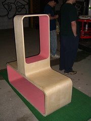 ICFF: Guerilla Furniture Show outside Living S...