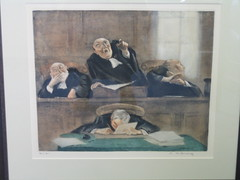 Angry judges and steadfast court reporter