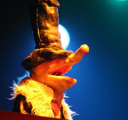 Mr. Maloke, el líder de Puppetmastaz / Fuente: flickr