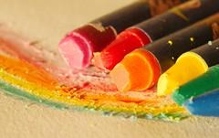 crayon rainbow