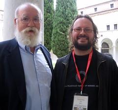 Daniel Dennett and David Orban