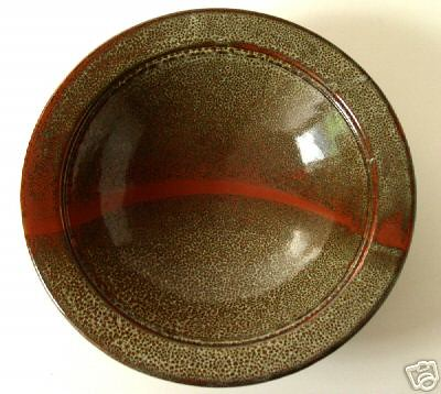 R? Macready. Serving bowl. 1990s?