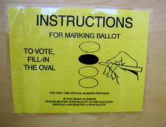 voting instructions by muffel
