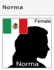 TomTom voice: Norma
