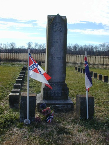 Mississippi monument at McGavock. by you.