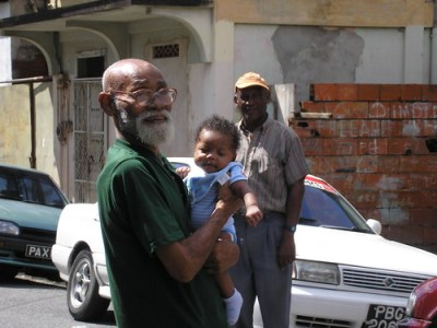 Daddy, Dayo and Uncle Boysie November 2006