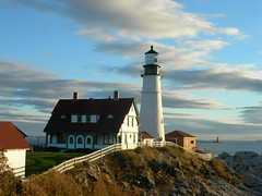 Portland Headlight & Ram Island Ledge Lighthouse
