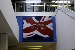UK - London: Heathrow Airport - Welcome to Britain